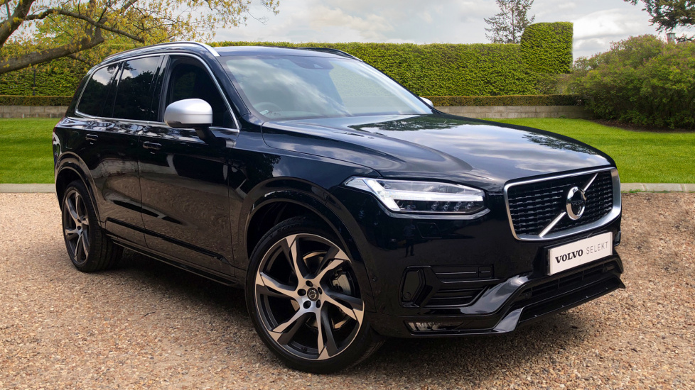 Volvo XC90 2.0 D5 PowerPulse R Design Pro AWD Automatic With Smartphone Integration & Panoramic Glass Sunroof Diesel 5 door Estate (2018) image