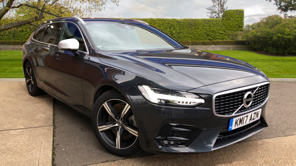 Volvo V90 2.0 D5 Power Pulse R Design AWD Auto Winter Pk, Privacy Glass, Active Bending Headlights. Diesel Automatic 5 door Estate (2017) image