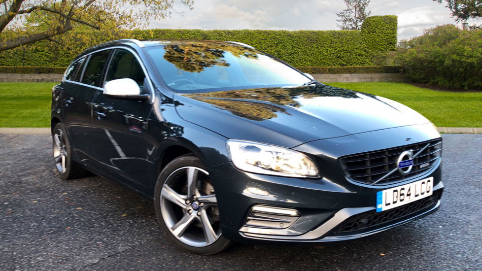 Volvo V60 D2 115hp R DESIGN Lux Nav Estate Manual with Winter Pack, Frt & Rear Park Assist and Bluetooth 1.6 Diesel 5 door (2015) image