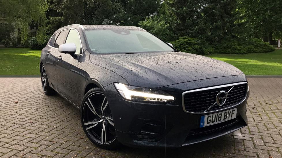 Volvo V90 2.0 D4 R Design Pro Auto W. Pro Pack, Xenium Pack & Intellisafe Surround  Diesel Automatic 5 door Estate (2018) image