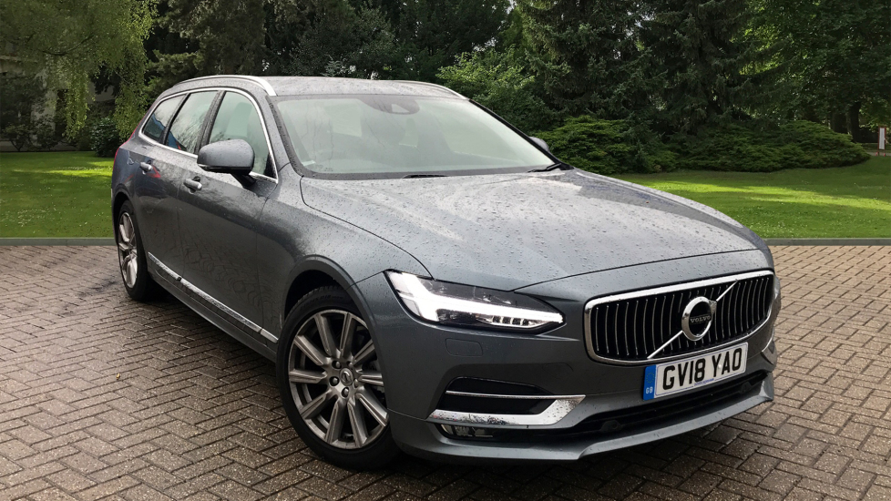 Volvo V90 2.0 D4 Inscription Auto W. Winter Pack, Front & Rear Park Assist & Sat Nav Diesel Automatic 5 door Estate (2018) image
