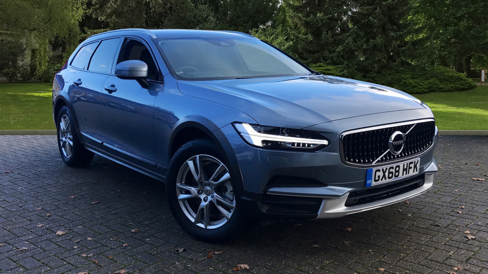 Volvo V90 2.0 D4 Cross Country AWD Auto W. Winter Pack, Dark Tinted Windows & Sensus Navigation  Diesel Automatic 5 door Estate (2018) available from Jaguar Hatfield thumbnail image