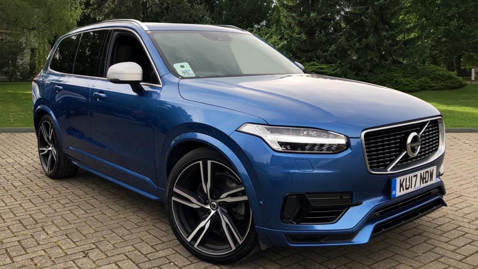 Volvo XC90 T8 Hybrid R-Design Pro AWD Auto W. Panoramic Sunroof & Premium Metallic Paint 2.0 Petrol/Electric Automatic 5 door Estate (2017) image