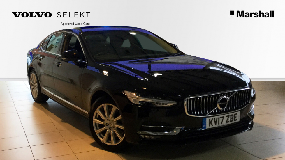 Volvo S90 D5 (235 bhp) PowerPulse AWD Inscription Automatic Winter Pack, Full Leather Interior, LED Headlamps, Electric Seats