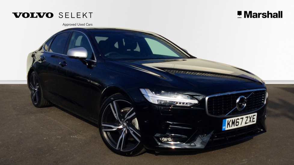 Volvo S90 D4 R-Design Pro Automatic, Park Pilot, Privacy Glass, Apple Carplay Xenium Pack, Seat Pack, Bowers & Wilkins Premium Sound, Sunroof. 360 Camera