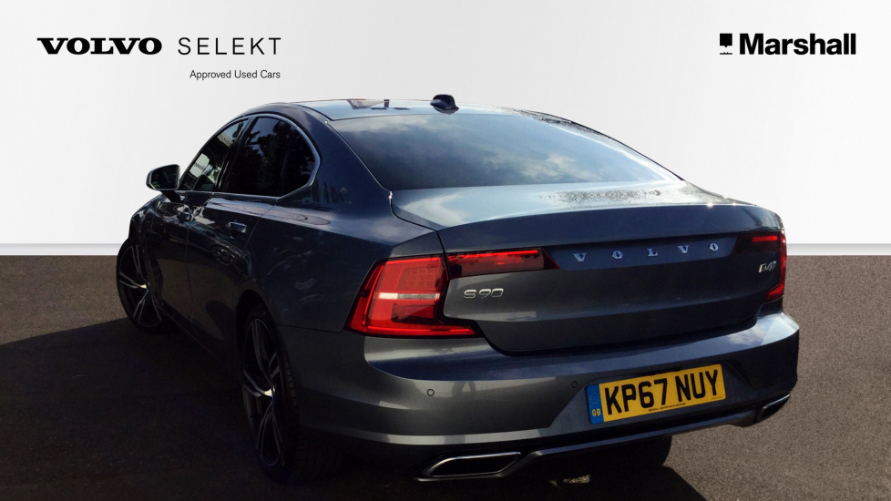 Volvo S90 D4 R-Design Pro Automatic, Smartphone Integration, Rear Parking Camera, BLIS, Head Up Display, Keyless, Power Driver & Pass Seats