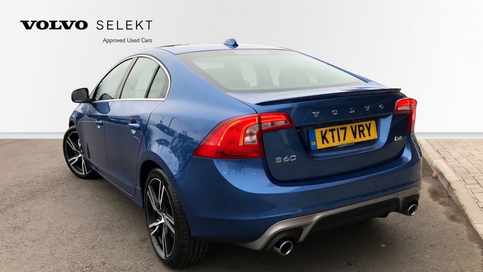 Volvo S60 D4 (188 BHP) R-Design Lux Automatic, Winter Pack, Sunroof, Driver Support Pack
