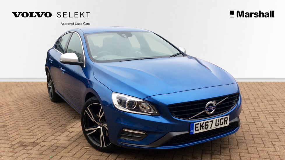 Volvo S60 D4 R-Design Lux Nav Automatic High Spec! (19 Inch Ixion Alloys, Nav, Full Leather, Winter Pack, Heated Steering Wheel)