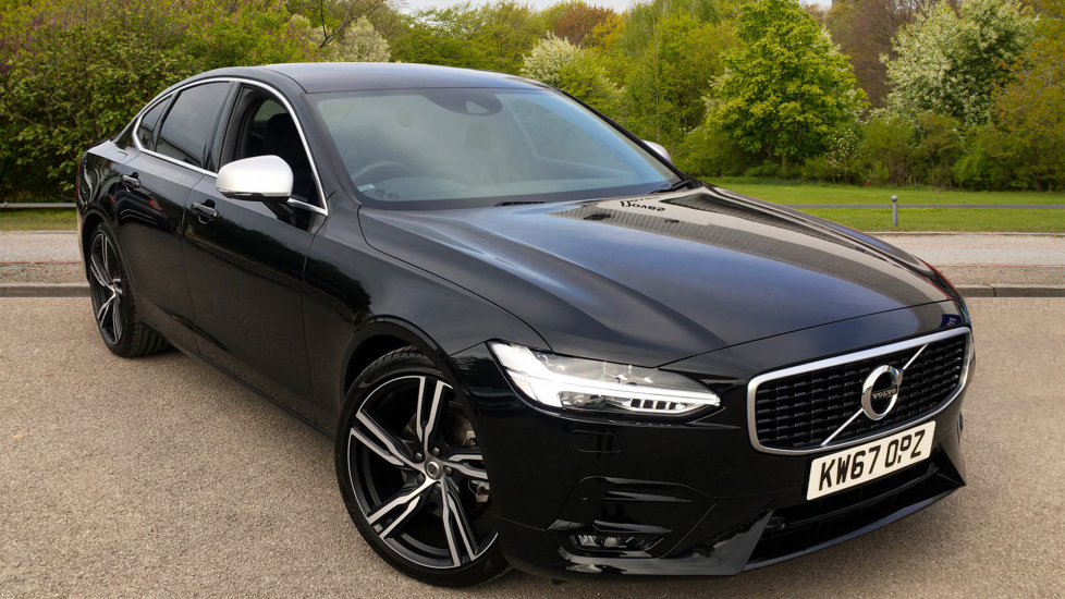 Volvo S90 2.0 D4 R DESIGN Pro Auto with Winter and Driver Support Packs Diesel Automatic 4 door Saloon (2017) image