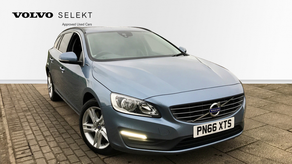 Volvo V60 D5 [163] Twin Eng SE Nav 5dr AWD Geartronic [Lthr] with Winter & Security Packs 2.4 Diesel/Electric Automatic Estate (2016) image