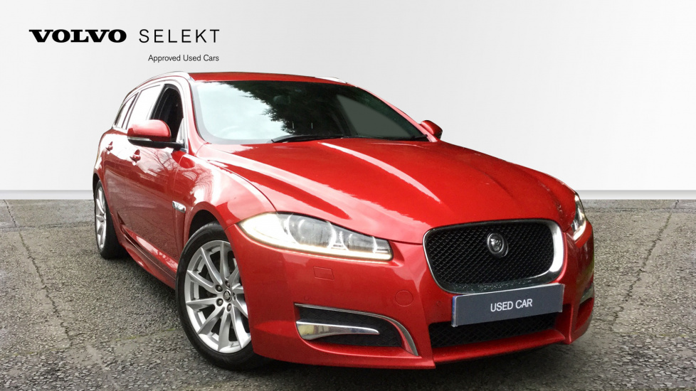 Jaguar XF 2.2d [200] Sport 5dr with Sat Nav, DVD Player and Parking Camera Diesel Automatic Estate (2012) image
