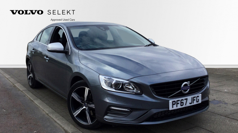 Volvo S60 D4 [190] R DESIGN Lux Nav Geartronic [Leather] 2.0 Diesel Automatic 4 door Saloon (2017) image