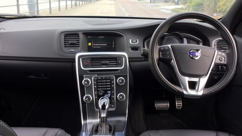 Volvo S60 D4 [190] R DESIGN Lux Nav Geartronic [Leather] image 6