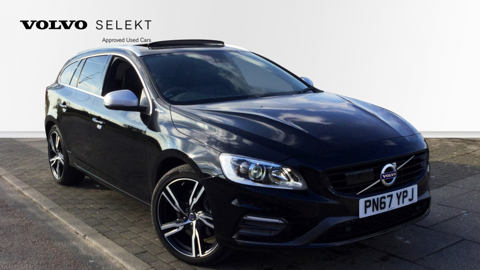 Volvo V60 D6 [220] Twin Eng R DESIGN Lux Nav 5dr AWD Gtronic 2.4 Diesel/Electric Automatic Estate (2017) image