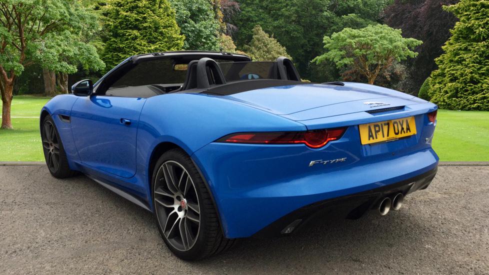 used jaguar f type r dynamic v6 supercharged blue ap17oxa. Black Bedroom Furniture Sets. Home Design Ideas