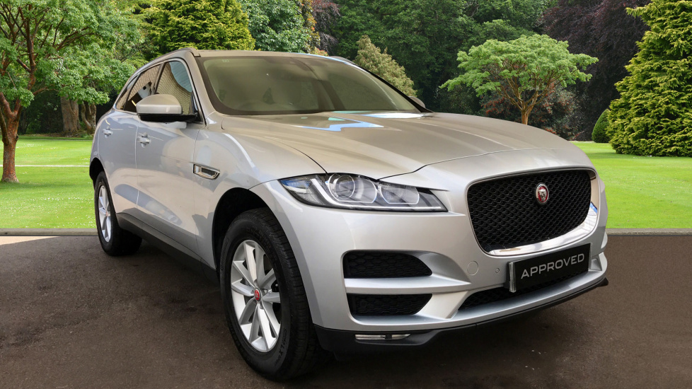 used jaguar f pace prestige d awd silver hy17gyv. Black Bedroom Furniture Sets. Home Design Ideas