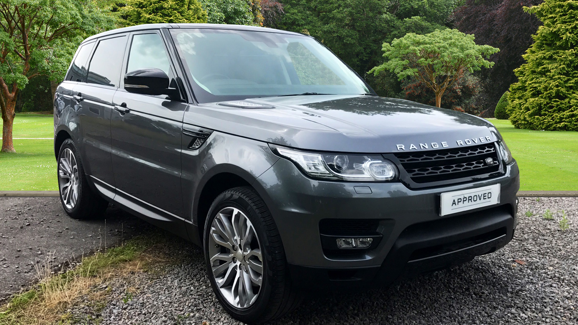 Used corris grey land rover range rover sport for sale surrey - Thumbnail 1