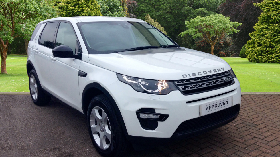 used land rover discovery sport pure td4 white au17tzv. Black Bedroom Furniture Sets. Home Design Ideas