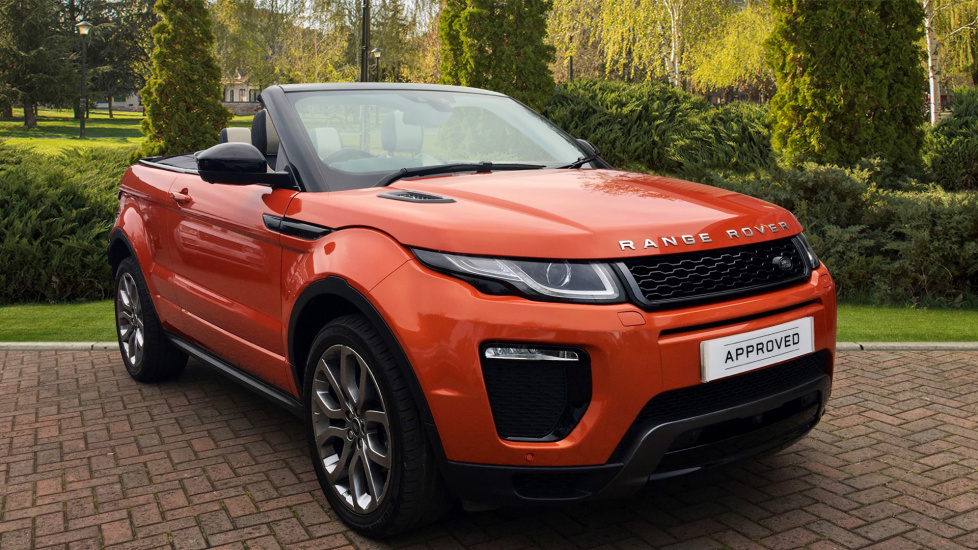 Land Rover Range Rover Evoque Convertible 2.0 TD4 HSE Dynamic Lux 2dr Diesel Automatic Convertible (2016) image