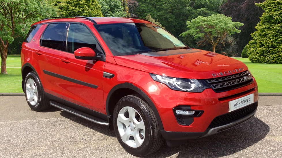 2017 Approved Used Discovery Sport Land Rover Discovery