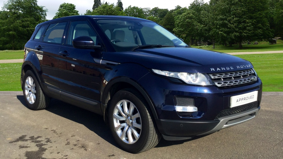 land rover range rover evoque 2 2 sd4 pure 5dr tech pack diesel. Black Bedroom Furniture Sets. Home Design Ideas