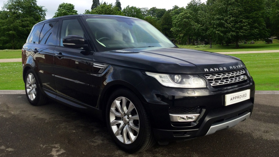 land rover range rover sport 3 0 sdv6 hse 5dr diesel automatic estate. Black Bedroom Furniture Sets. Home Design Ideas