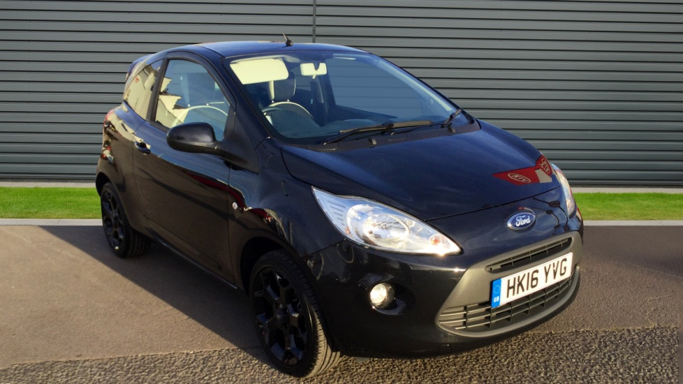 2016 (16) Ford KA 1.2 Zetec Black Edition For Sale In Portsmouth, Hampshire