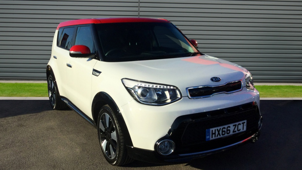 2016 (66) Kia Soul 1.6 CRDi 134 Mixx For Sale In Portsmouth, Hampshire