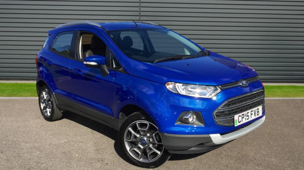 Used Ford Ecosport For Sale In Exeter Devon Hendy Car Store