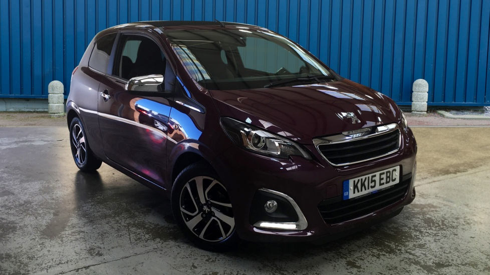 Used Peugeot 108 Convertible 1.2 PureTech Allure TOP! 3dr