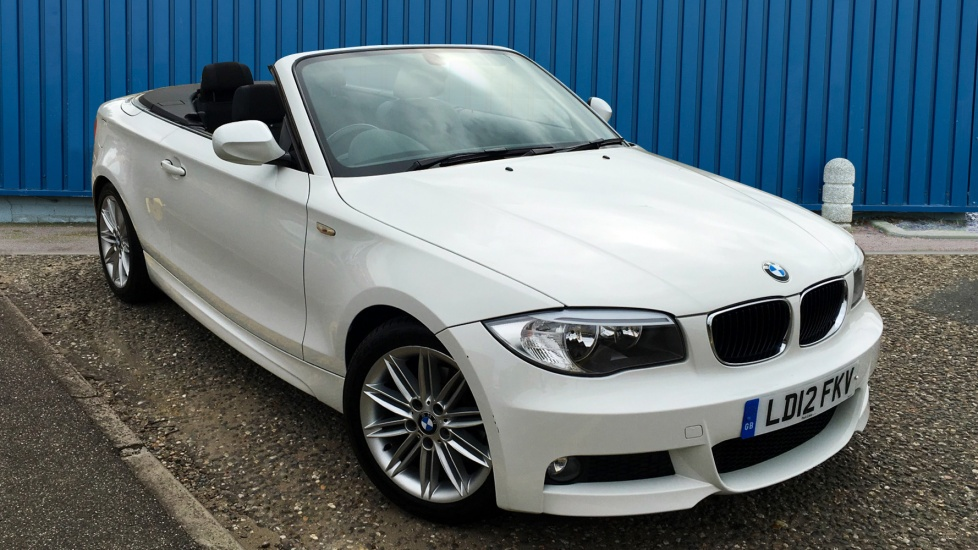 Used BMW 1 SERIES Convertible 2.0 118i M Sport 2dr