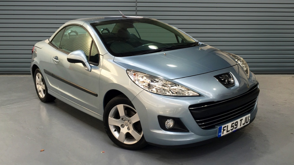 Used Peugeot 207 CC Convertible 1.6 VTi Sport 2dr