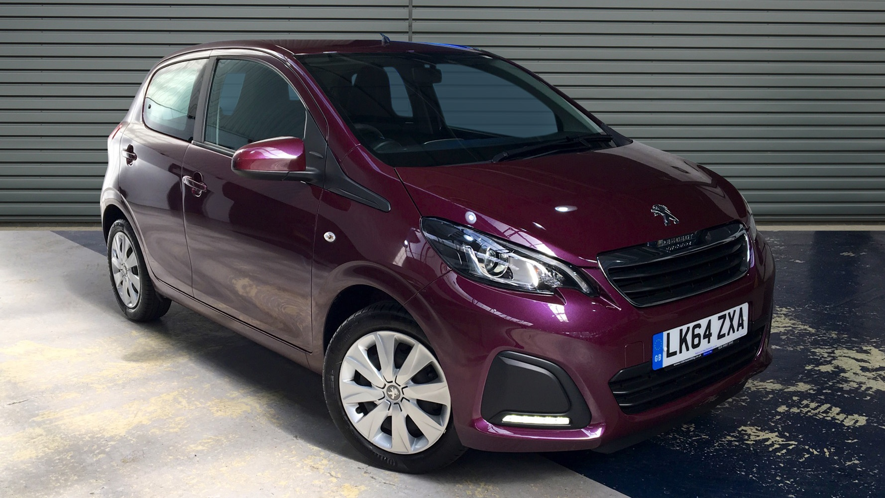 used peugeot 108 hatchback 1 0 active 5dr 2015 lk64zxa. Black Bedroom Furniture Sets. Home Design Ideas