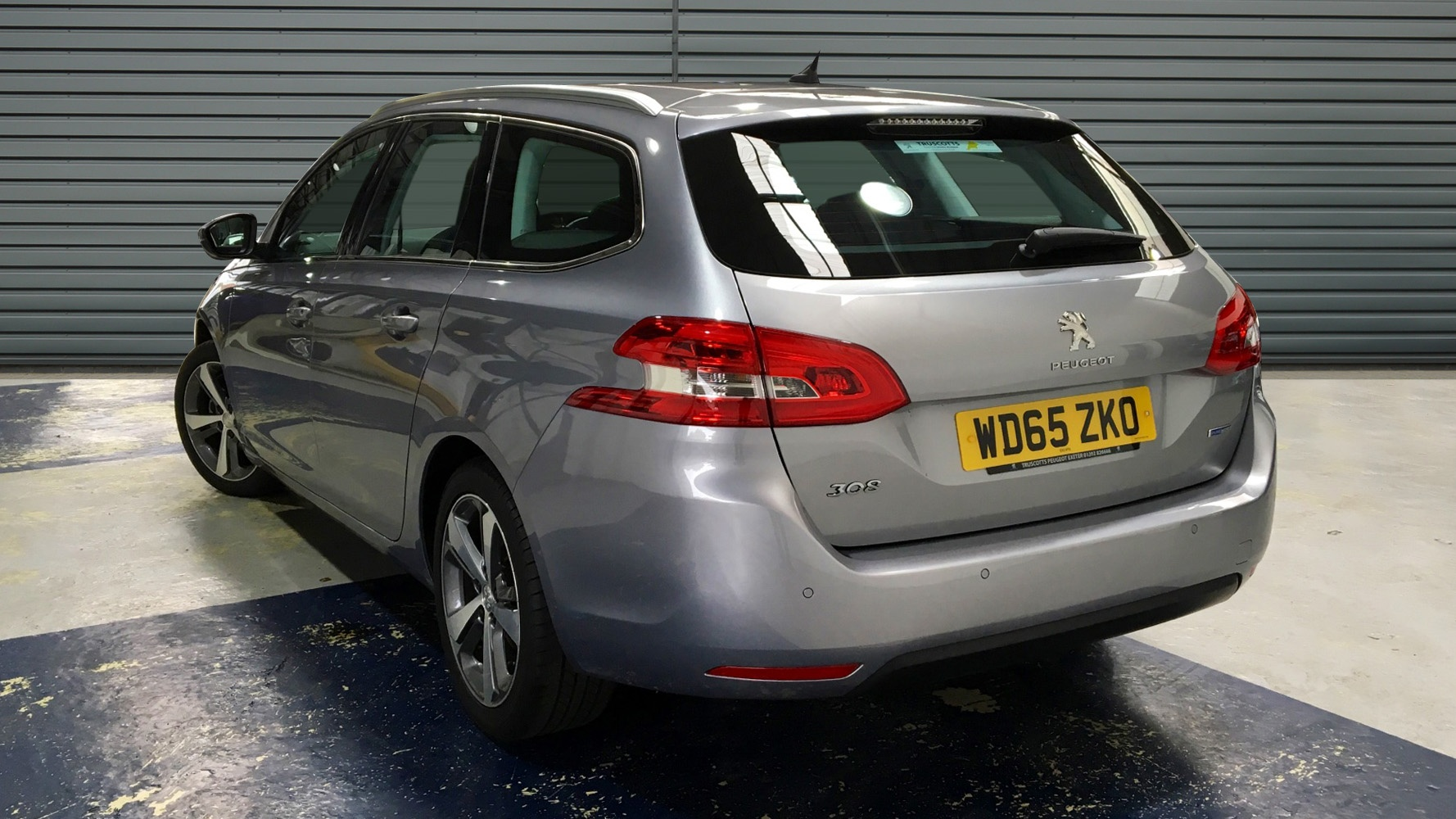 used peugeot 308 sw estate 1 2 puretech allure eat6 5dr. Black Bedroom Furniture Sets. Home Design Ideas