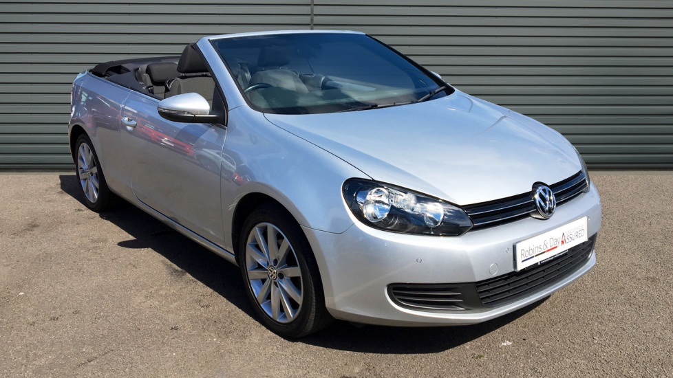 Used Volkswagen GOLF Convertible 1.6 TDI BlueMotion Tech SE 2dr