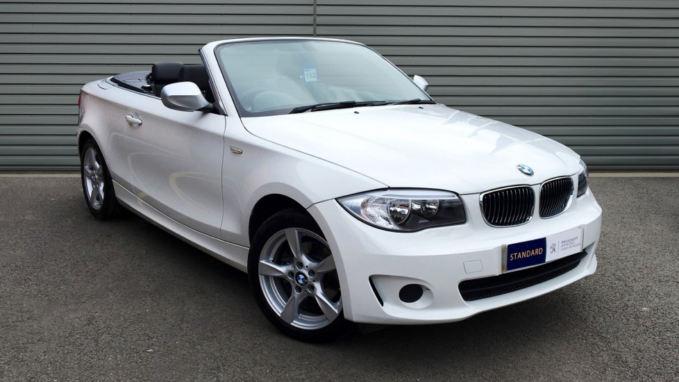 Used BMW 1 SERIES Convertible 2.0 120d Exclusive 2dr