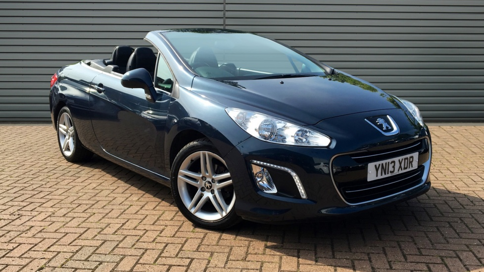 used peugeot 308 cc convertible 1 6 e hdi active 2dr start stop 2013 yn13xdr. Black Bedroom Furniture Sets. Home Design Ideas