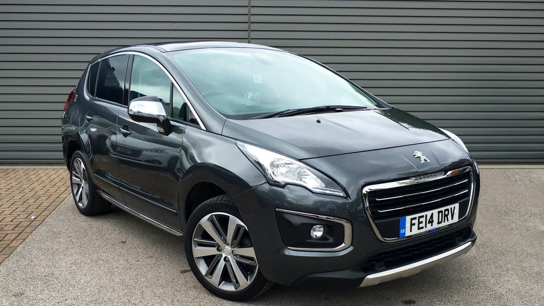 used peugeot 3008 hatchback 1 6 hdi fap allure 5dr 2014 fe14drv. Black Bedroom Furniture Sets. Home Design Ideas