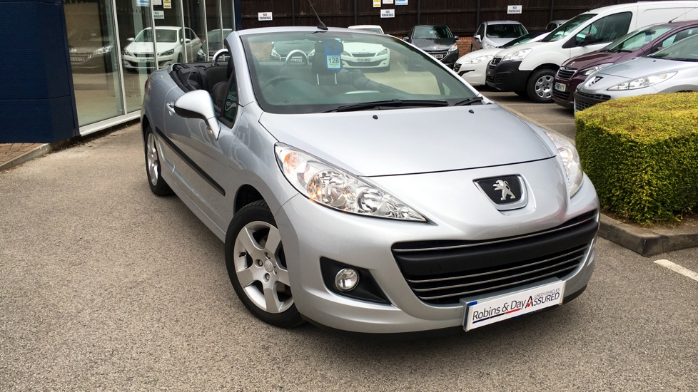Used Peugeot 207 CC Convertible 1.6 VTi Active 2dr