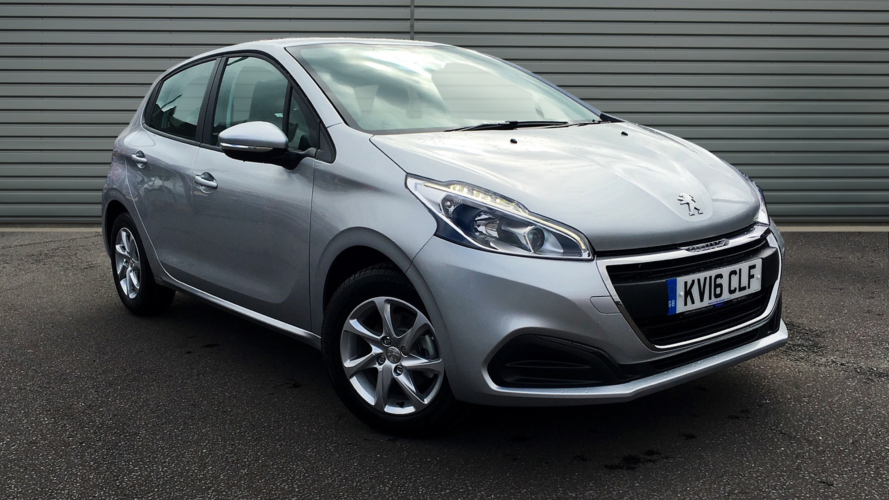 used peugeot 208 hatchback 1 0 puretech active 5dr kv16clf. Black Bedroom Furniture Sets. Home Design Ideas