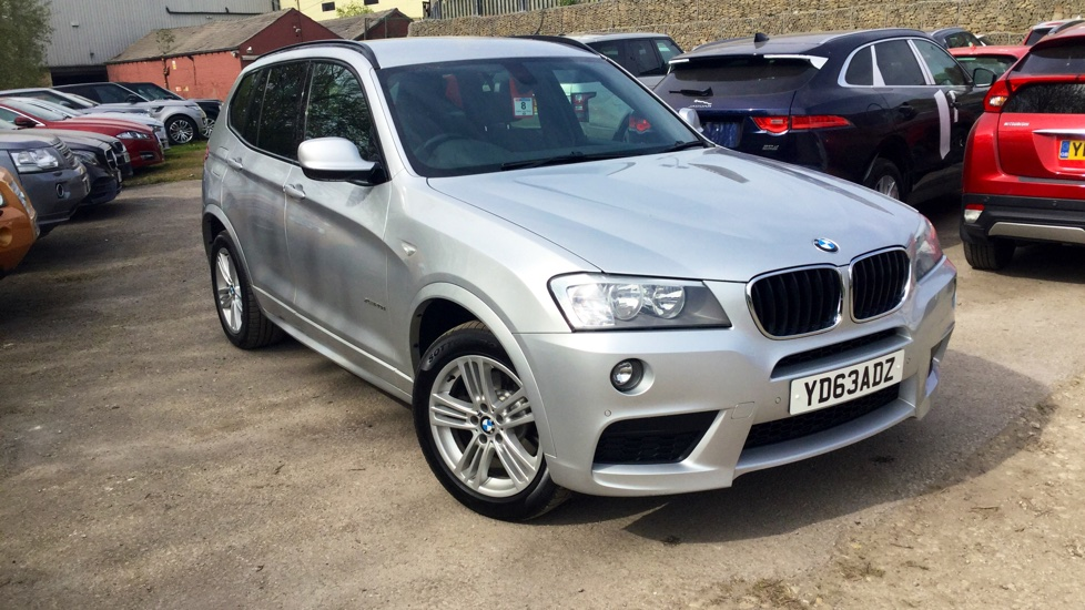 BMW X3 Silver Automatic Auction | DealerPX