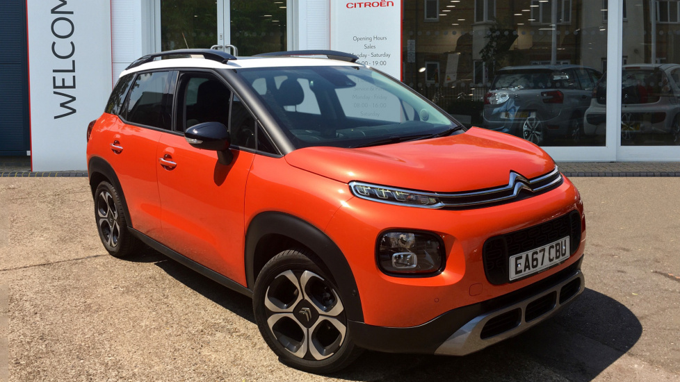 Used Citroen C3 AIRCROSS SUV 1.6BlueHDi (100bhp) Flair