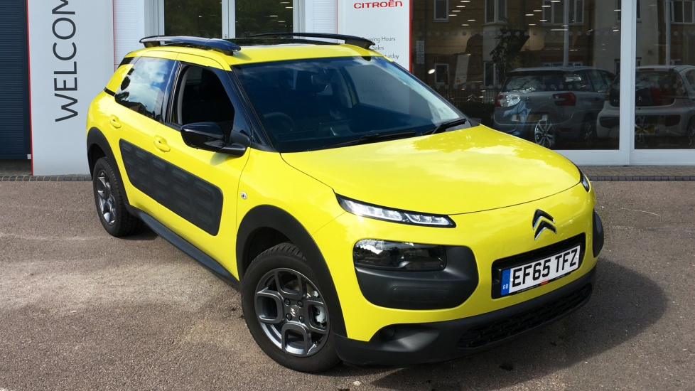 Used Citroen C4 CACTUS Hatchback 1.2 PureTech Feel 5dr (start/stop)