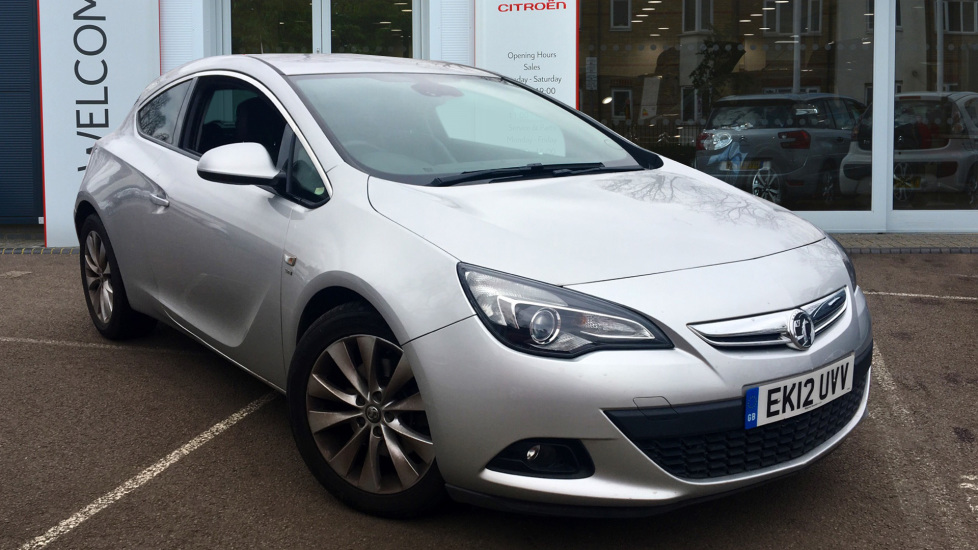 Used Vauxhall ASTRA GTC Coupe 1.4 i Turbo 16v SRi (s/s) 3dr