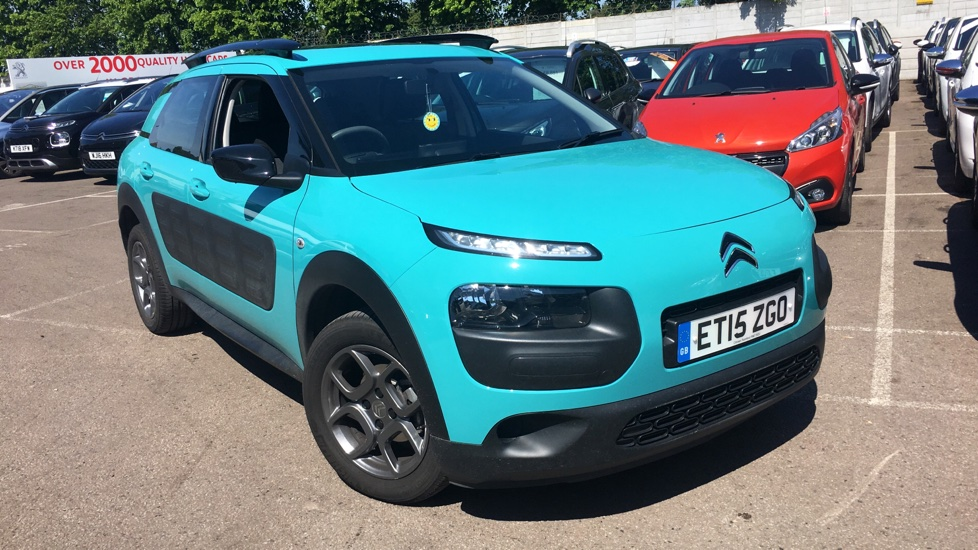 Used Citroen C4 CACTUS Hatchback 1.2 PureTech Feel 5dr (E6)
