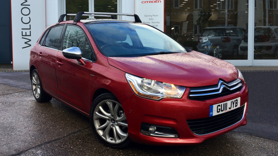 Used Citroen C4 Hatchback 1.6 VTi 16v Exclusive 5dr