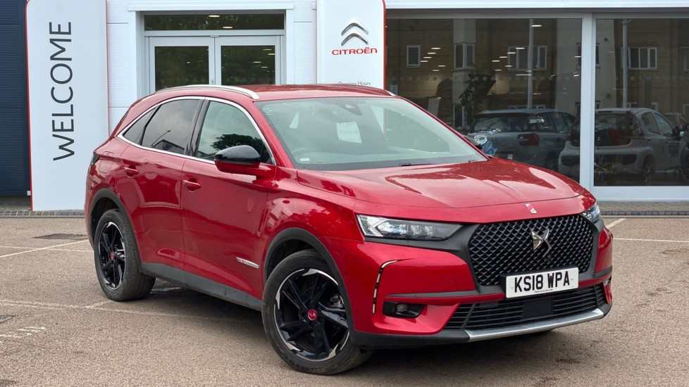 Used DS Automobiles DS 7 CROSSBACK SUV 2.0 BlueHDi Performance Line Crossback EAT8 (s/s) 5dr