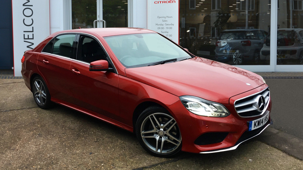 Used Mercedes-benz E CLASS Saloon 2.1 E220 CDI AMG Sport 7G-Tronic Plus 4dr