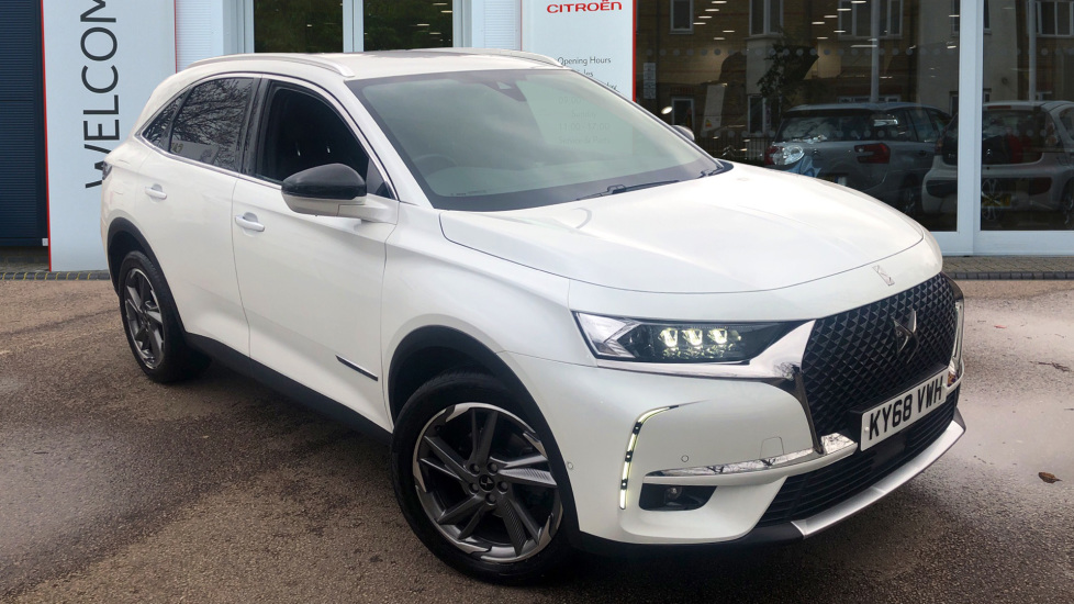 Used DS Automobiles DS 7 CROSSBACK SUV 2.0 BlueHDi Prestige EAT8 5dr