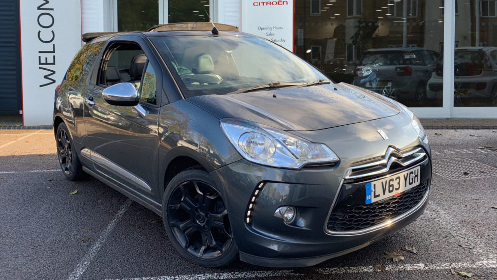 Used Citroen DS 3 Cabrio Convertible 1.6 THP DSport Plus 2dr